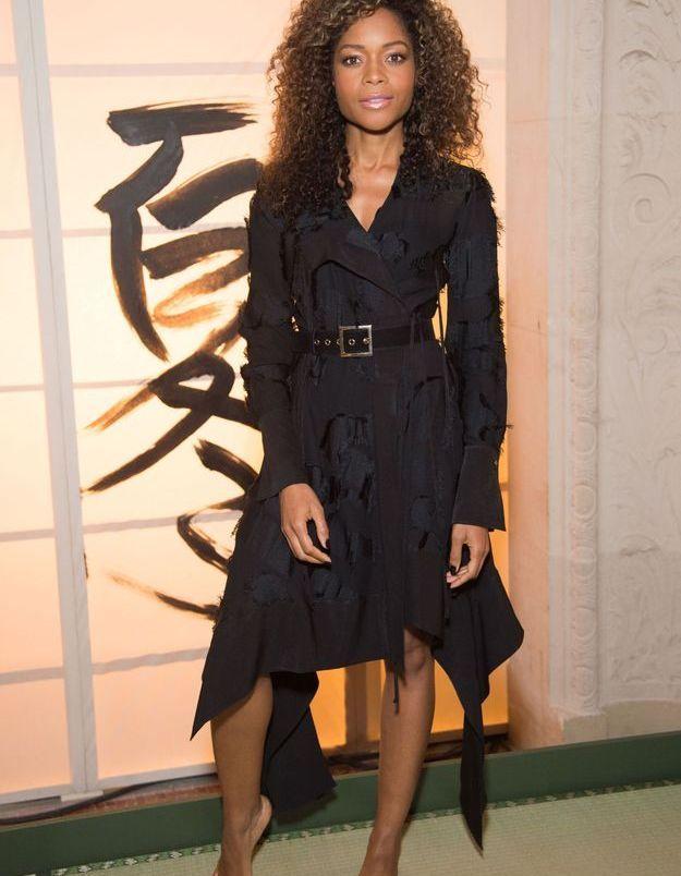 Naomie Harris au défilé H&M Studio