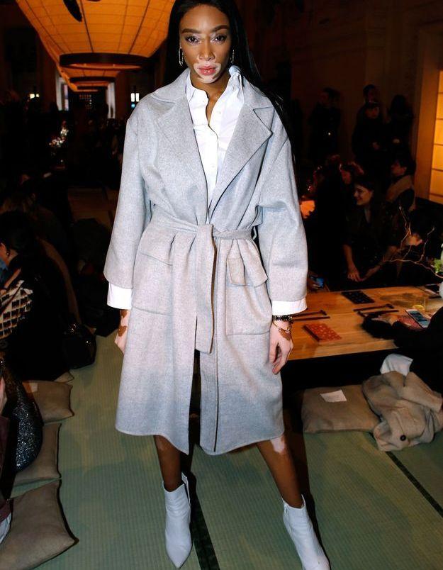 Winnie Harlow au défilé H&M Studio