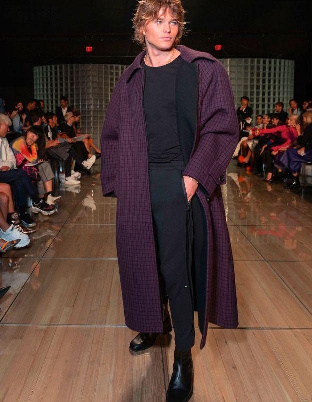Jordan Barrett au défilé Marc Jacobs
