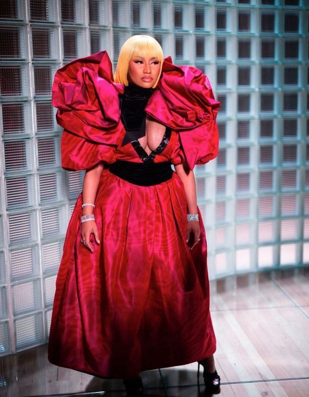 Nicki Minaj au défilé Marc Jacobs