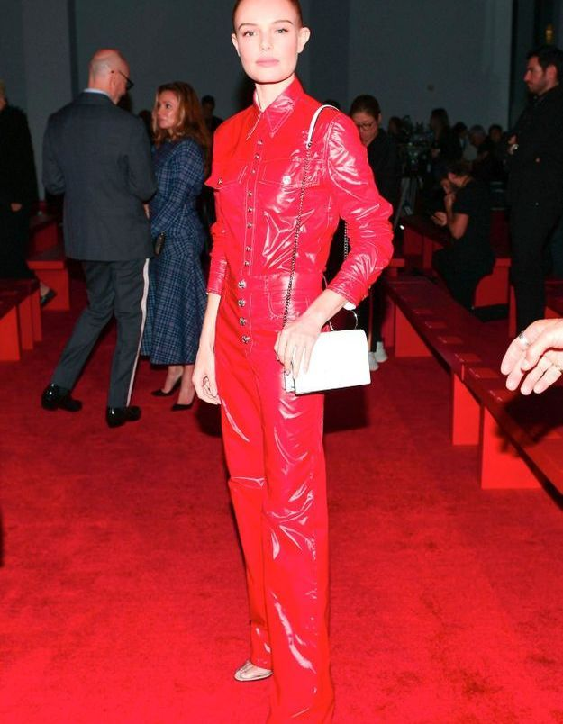 Kate Bosworth au défilé Calvin Klein