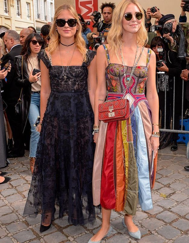 Chiara et Valentina Ferragni