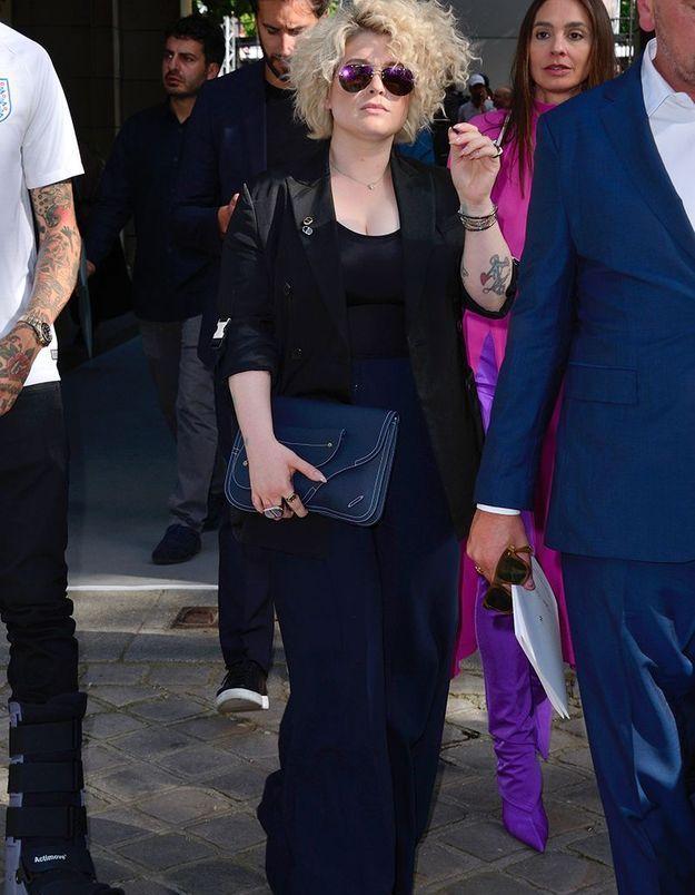 Kelly Osbourne au défilé Dior Homme
