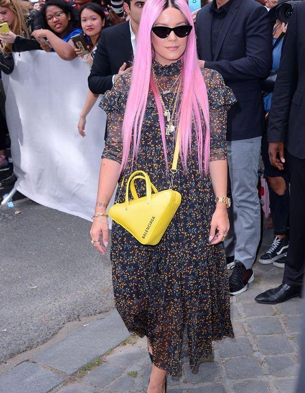 Lily Allen au défilé Dior Homme