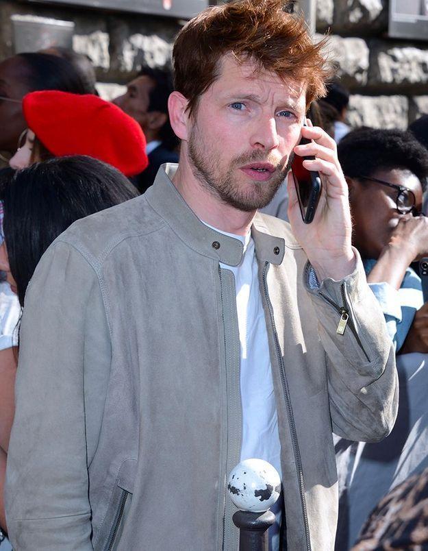 Pierre Deladonchamp au défilé Dior Homme