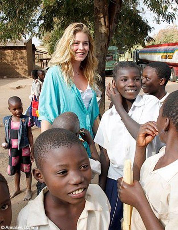 [VIDEO] Doutzen Kroes : un top qui se bat pour l'Afrique