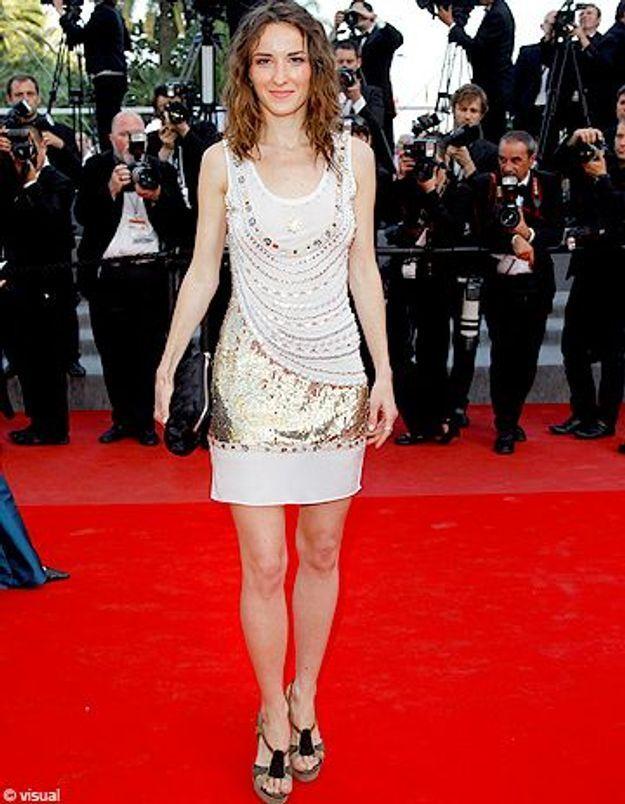 Salomé Stévenin, premiers pas à Cannes