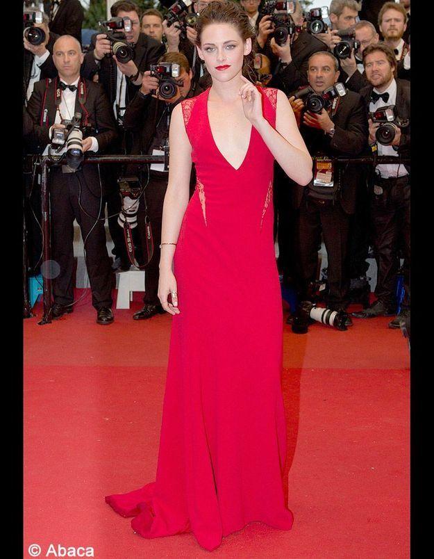 Le look du jour de Cannes : Kristen Stewart