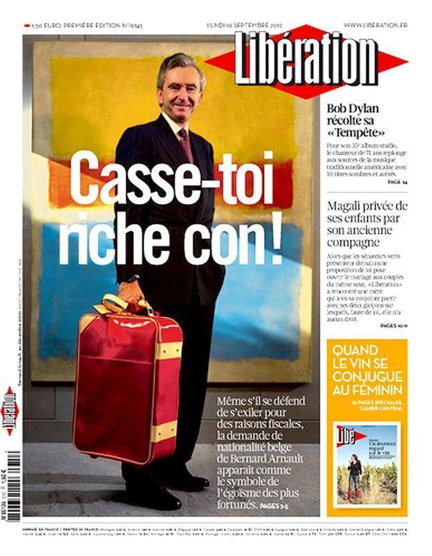 « Casse-toi riche con ! » : une spécialiste décrypte la une de « Libération »