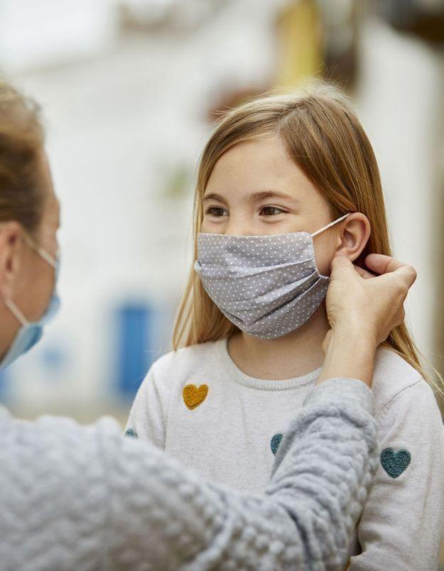 Comment expliquer le port du masque aux enfants de primaire ?