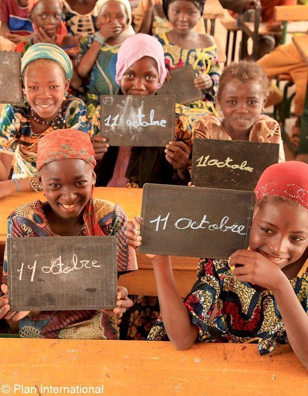 Journée internationale des filles : l'ONG Plan en campagne
