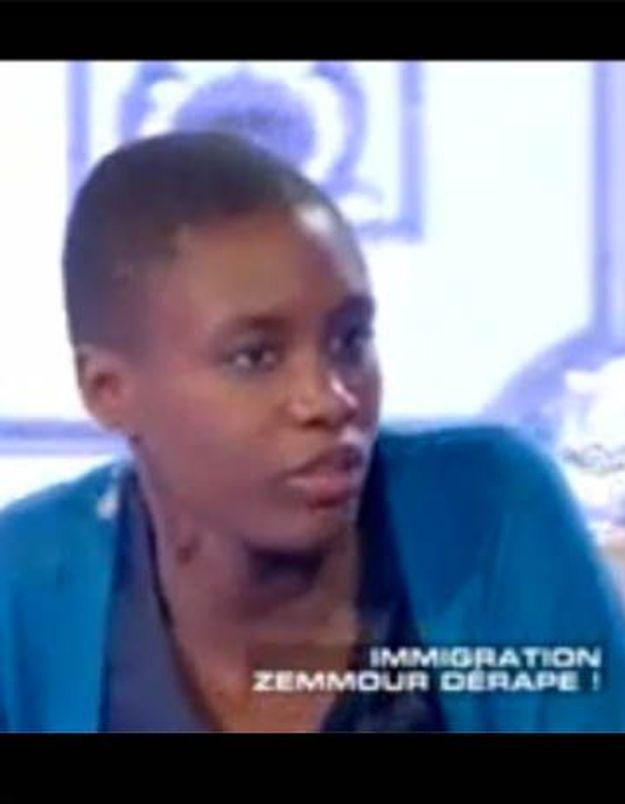 Rokhaya Diallo:«Je me suis sentie agressée par Eric Zemmour»
