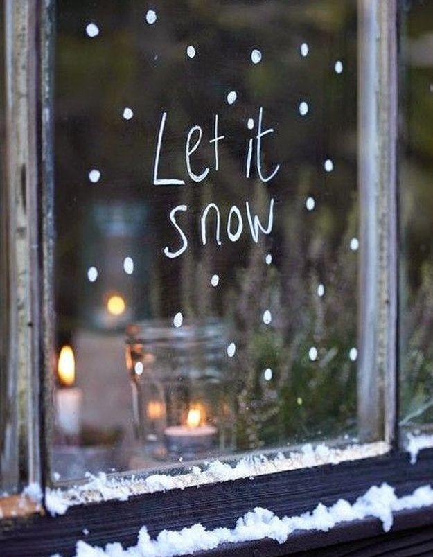 En février, on a envie de neige
