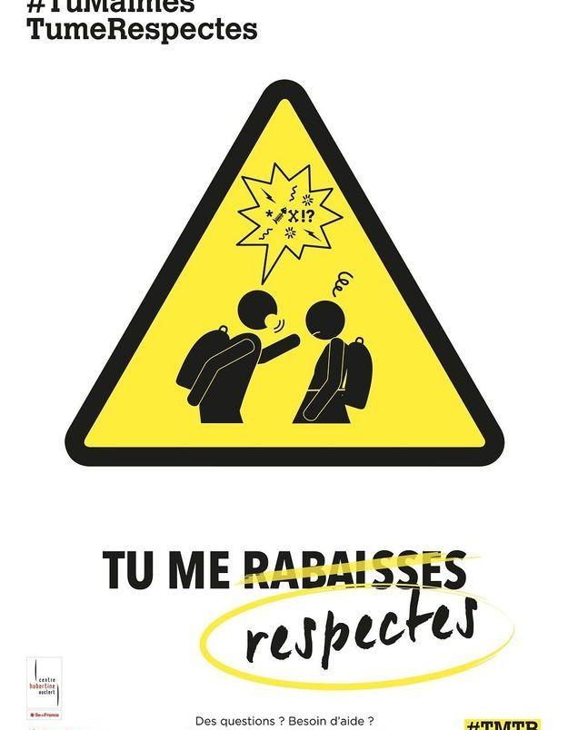 « Tu me respectes »