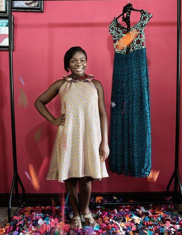 La styliste Emily Okoampah