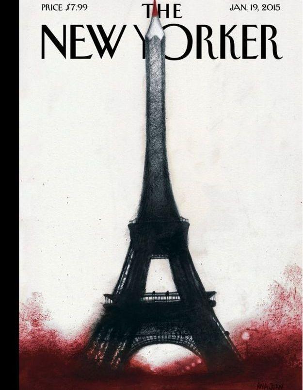 La une du magazine The New Yorker