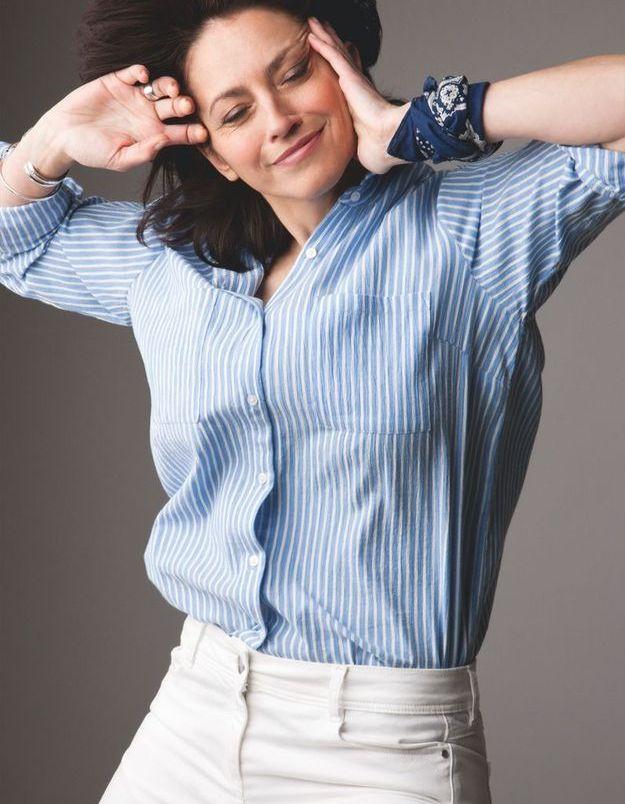 Sandrine, 47 ans, comédienne