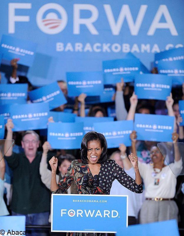 Michelle Obama pour son second mandat de First Lady
