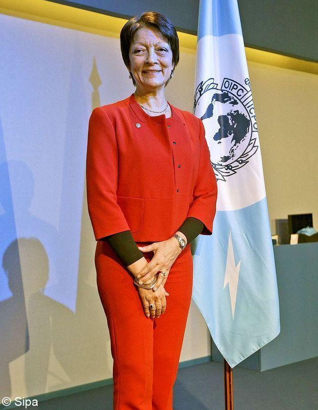 Mireille Ballestrazzi pour son ascension à la tête d'Interpol