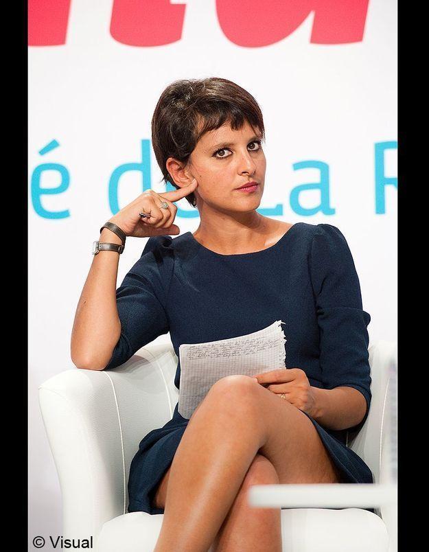 Najat Vallaud-Belkacem, pour son engagement en tant que ministre des Droits des femmes