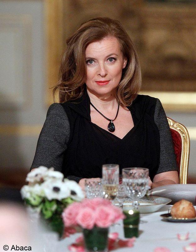 Valérie Trierweiler pour ses débuts de Première dame