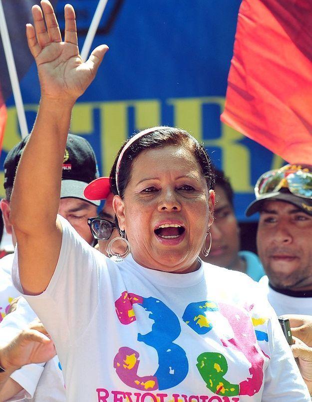 Daisy Torres, maire au Nicaragua