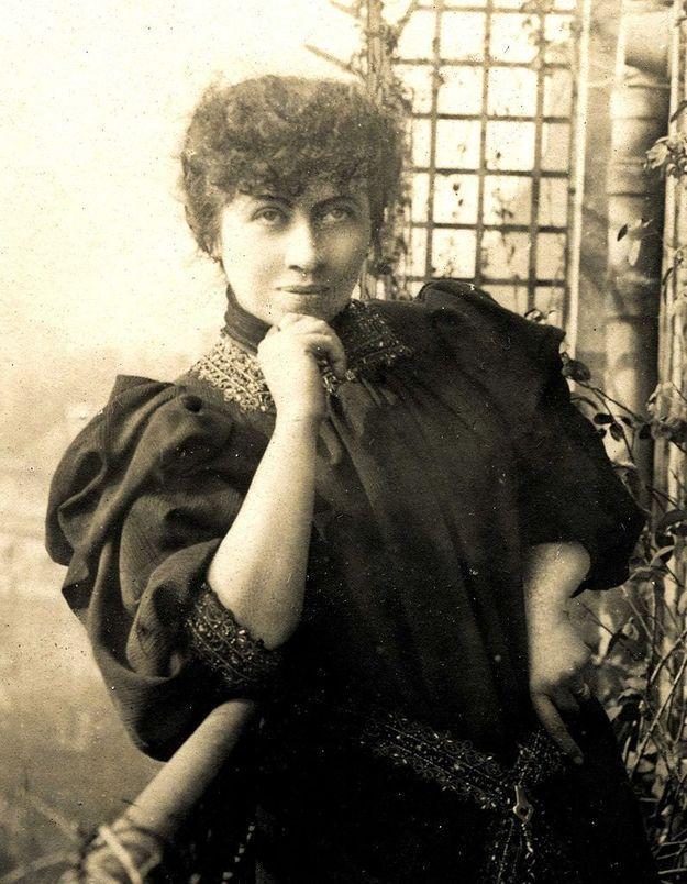Caroline Rémy, (1855-1929) féministe dite Séverine