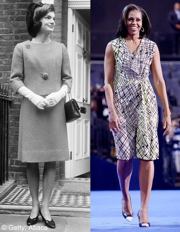 Michelle obama jackie kennedy