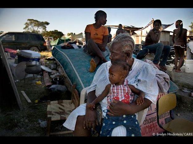 Scène banale à Haïti