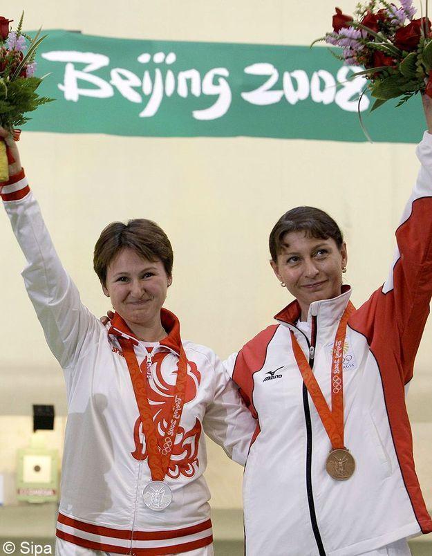 Natalia Paderina et Nina Salukvadze