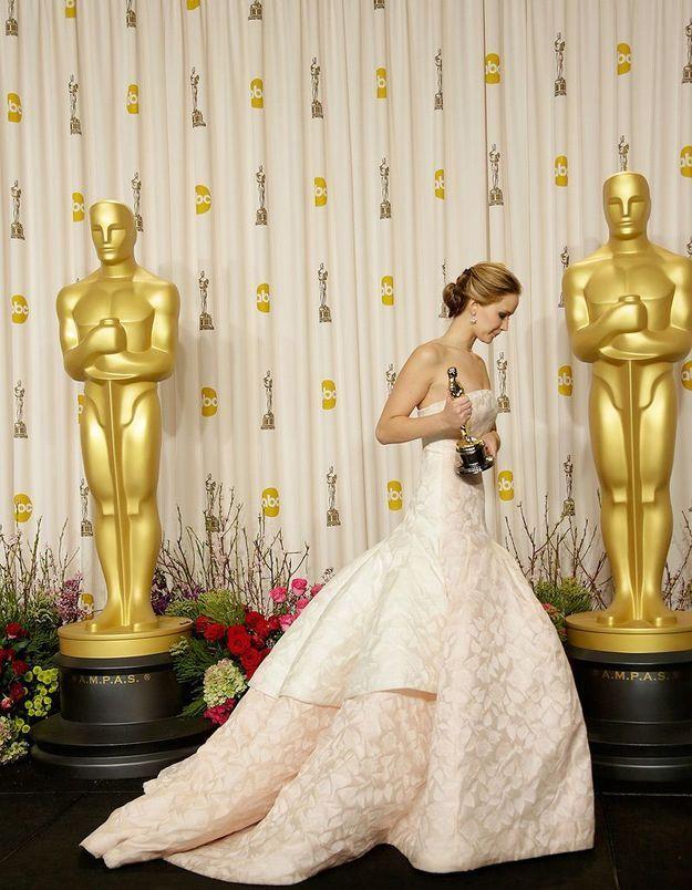 Jennifer Lawrence remporte l'Oscar