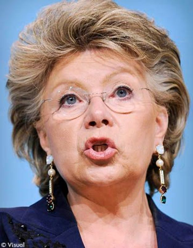 Viviane Reding : ''Je veux briser le tabou de la violence envers les femmes''