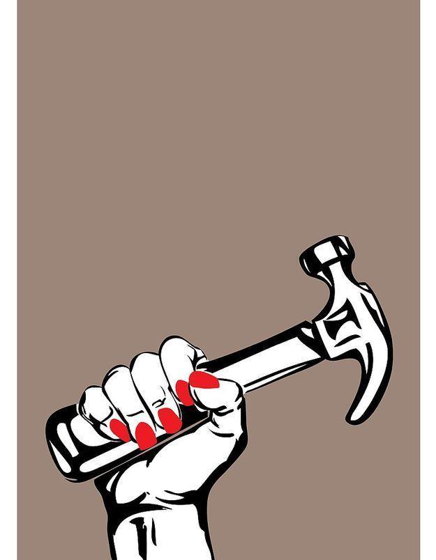 """Woman Hammer"""