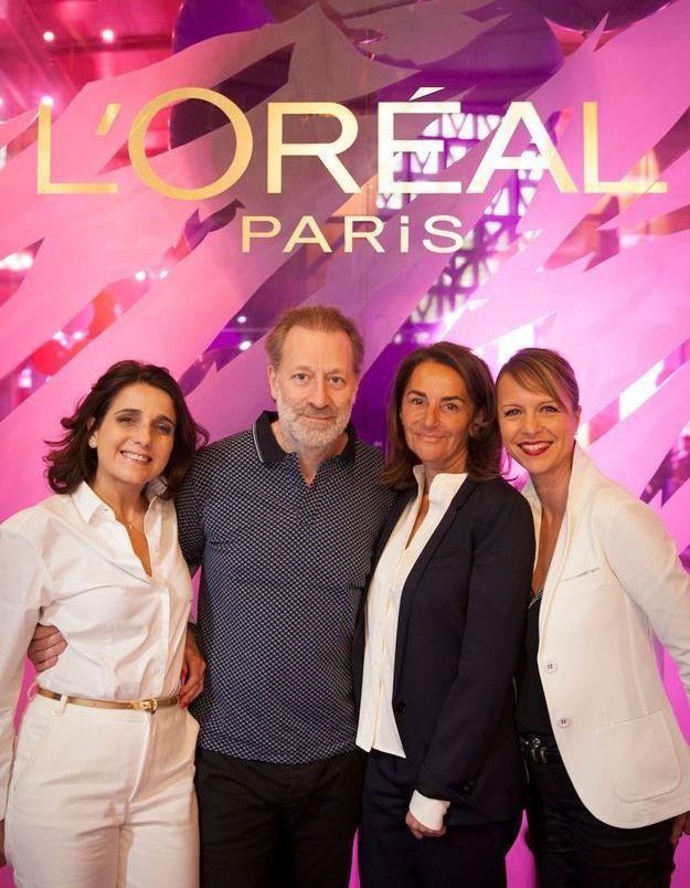 Les équipes L'Oréal Paris et ELLE Active