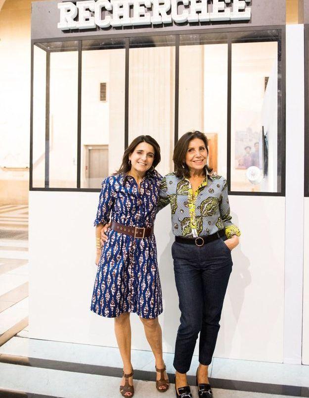 Anne-Cécile Sarfati et Anne-Marie Lecordier