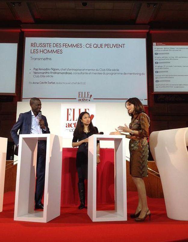 Pap' Amadou Ngom, Veromanitra Andriamandroso et Anne-Cécile Sarfati