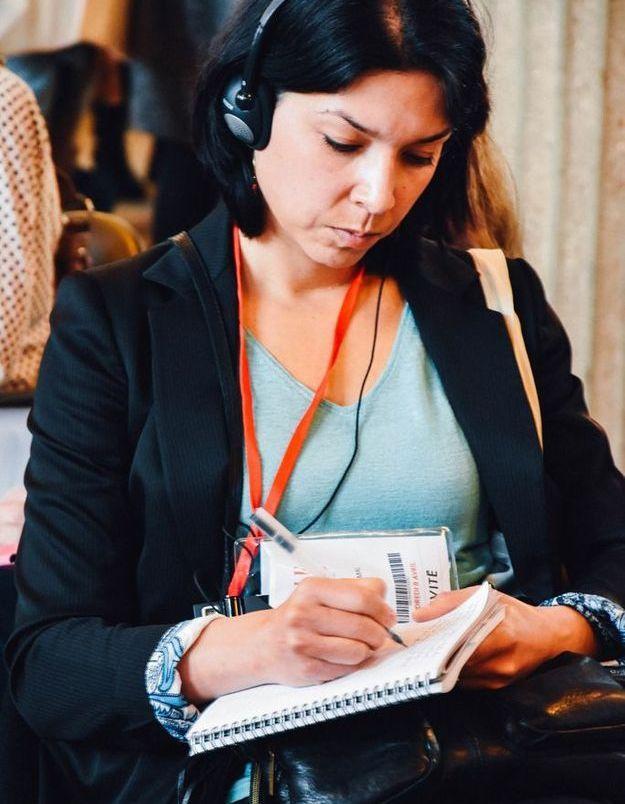 Une participante