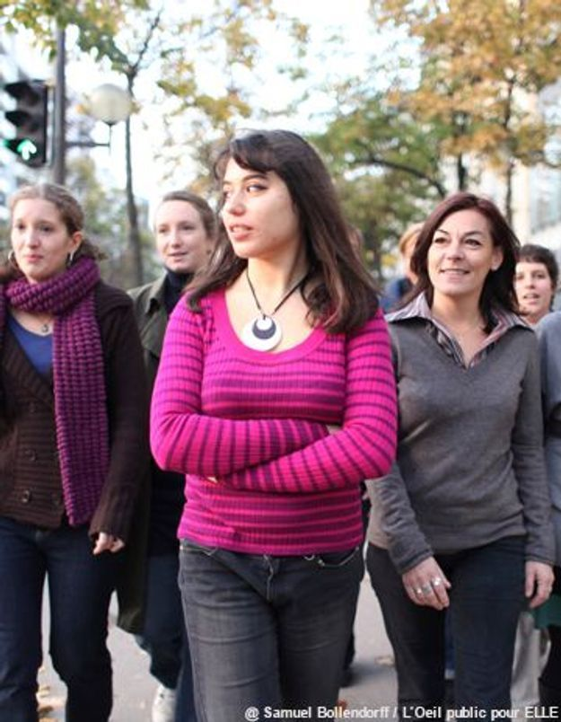 1,2,3… V'là les feministas !