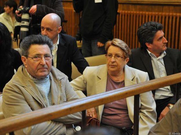 Les parents de Véronique au procès