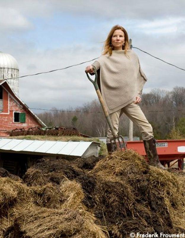 Le Dr Aga à la ferme