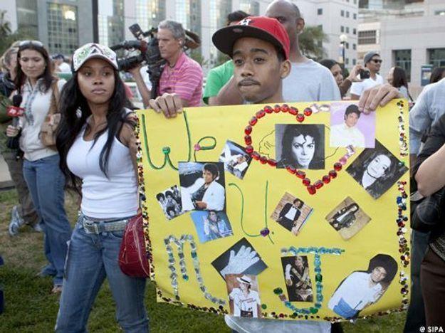 fans pancarte