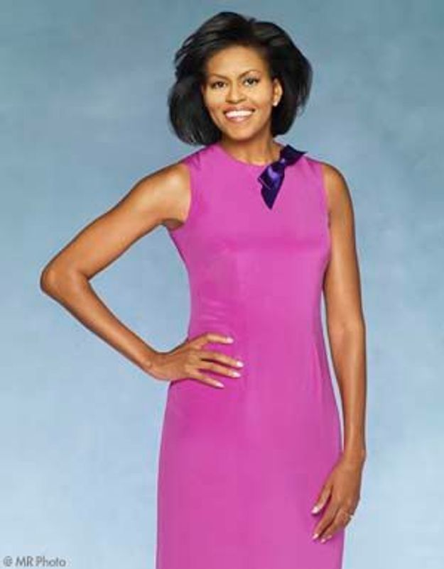 Michelle Obama, First class lady