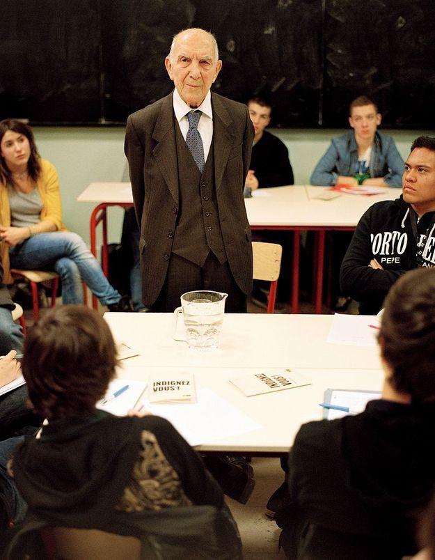 Stéphane Hessel au lycée : master classe !