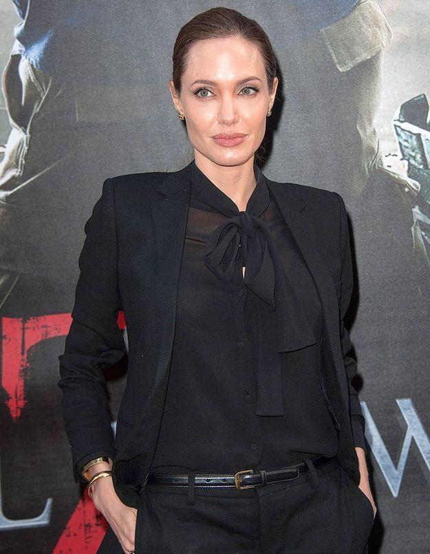 Angelina Jolie qui dévoile son combat