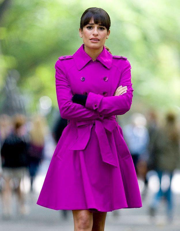 La courageuse Lea Michele