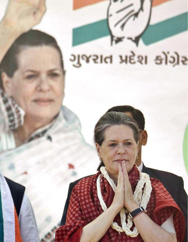 Sonia Gandhi se bat pour les femmes en Inde