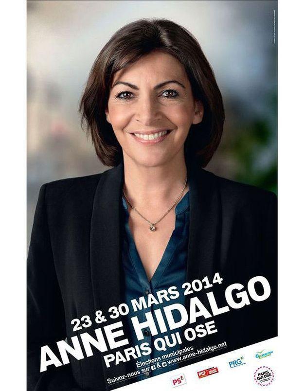 Anne Hidalgo photoshopée ?