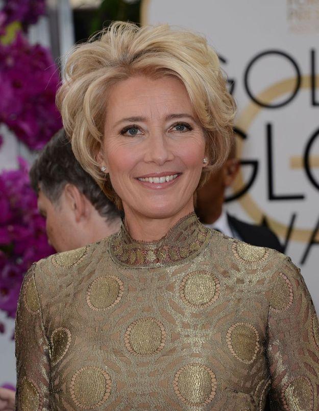 Emma Tompson se fait remarquer aux Golden Globes