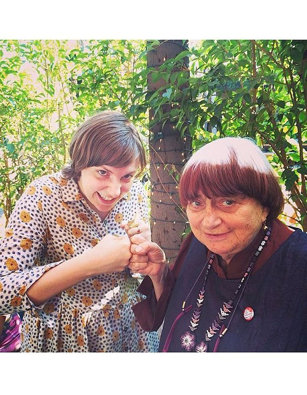 Lena Dunham et Agnès Varda : rencontre de choc