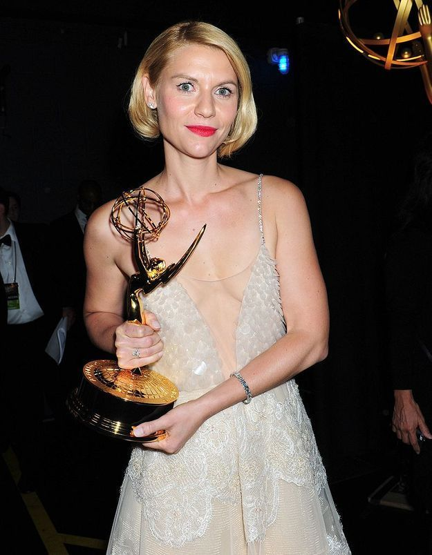 Claire Danes, star de « Homeland »
